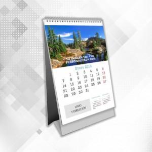 Calendarios de Sobremesa Mensual 14x15 cms Vertical con Wireo
