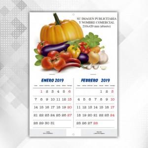 Calendarios Pared con Grapas Bimensual
