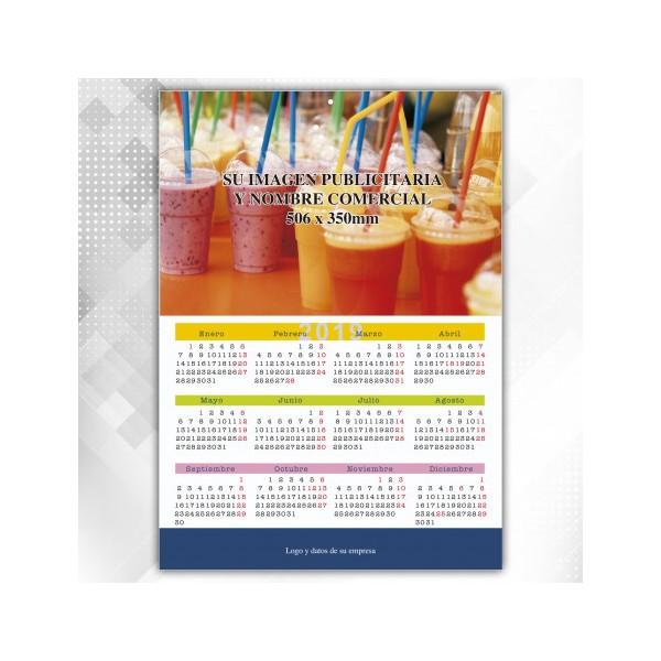 Calendario Poster 50x70