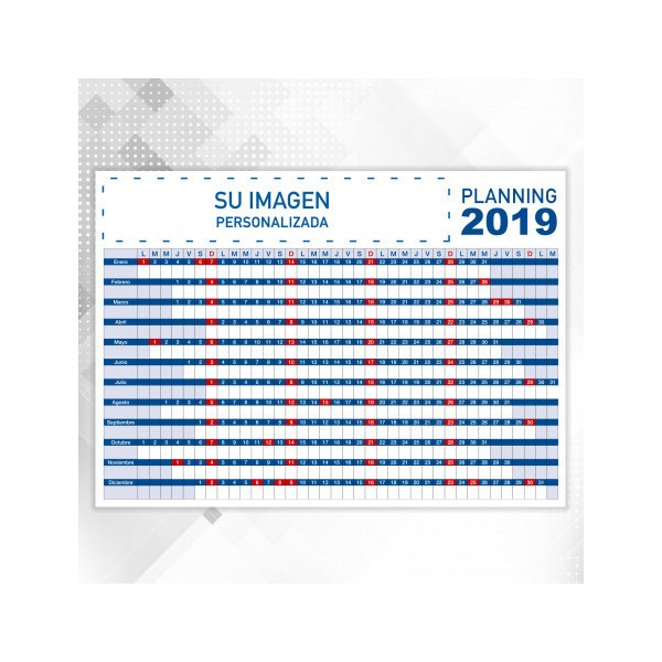 Calendario Planificador de Pared
